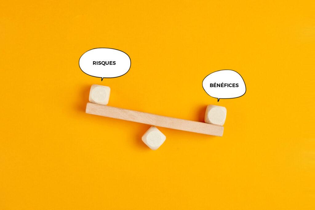 Balance bénéfices/risques